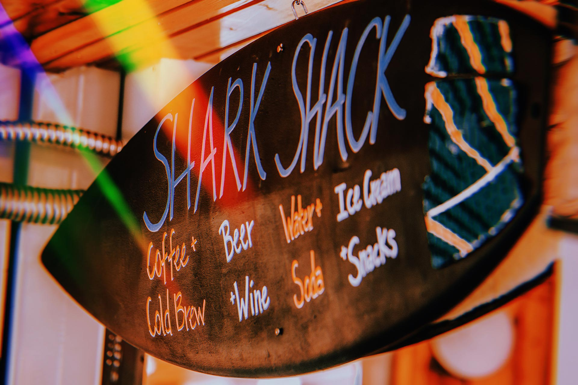 Shark Shack Menu
