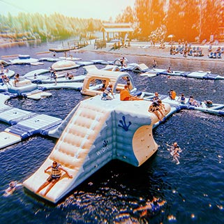 Image of Inflatable Water Park